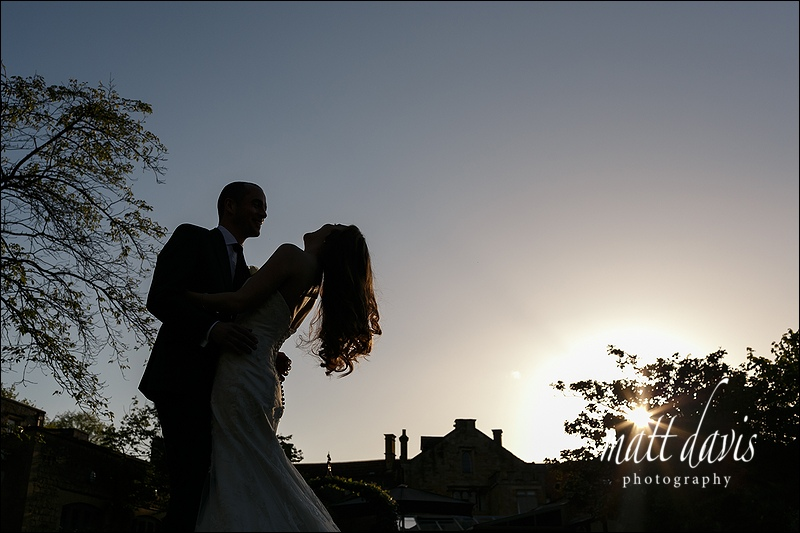 Manor House Hotel wedding photographer - James & Tina