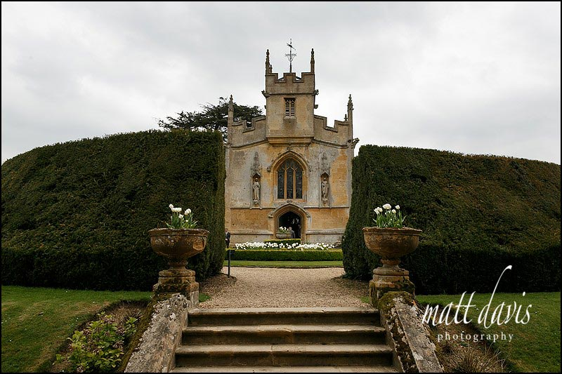 wedding chapel Sudeley Castle