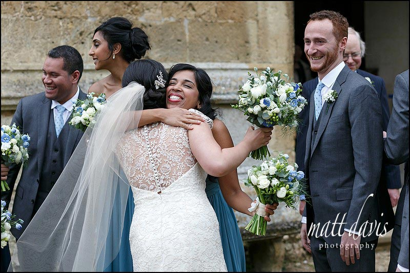 Documentary wedding photos taken at Sudeley Castle by Gloucestershire photographer Matt Davis