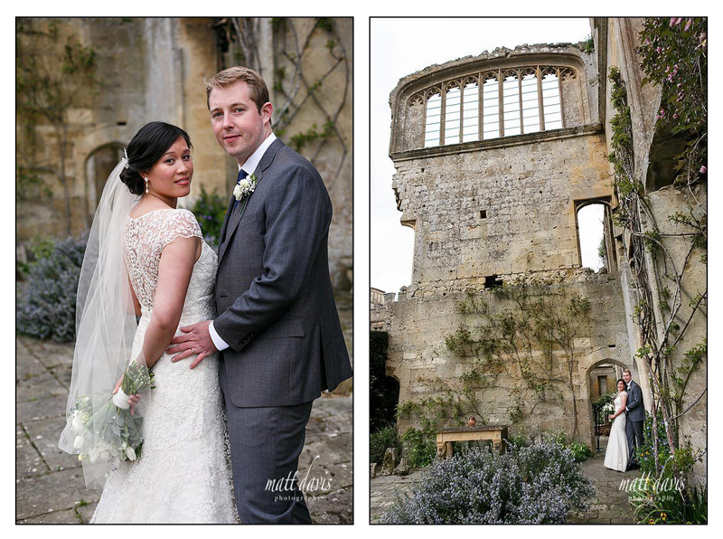 Stunning wedding photos at Sudeley Castle