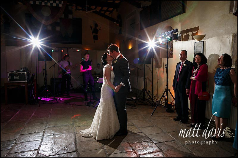 Sudeley Castle wedding first dance