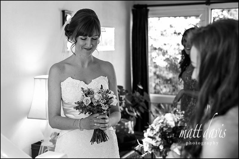 black and white Wedding photography Solihull