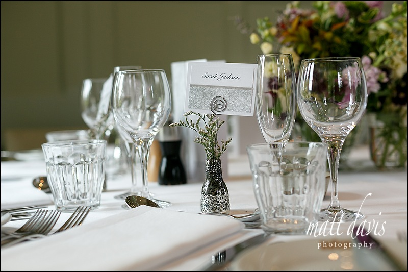 Table layouts at Barnsley House