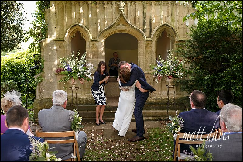 Documentary wedding photography at Barnsley House