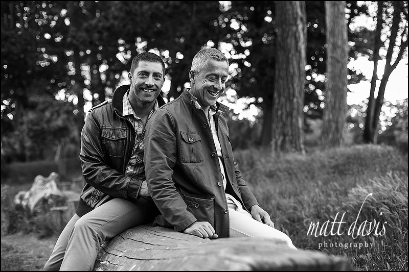 Same sex engagement photos Cheltenham – Pete & Nick