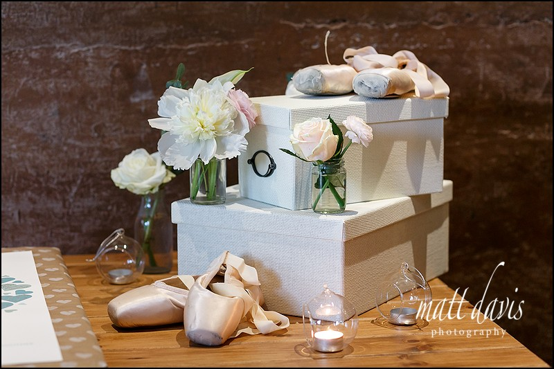 Ballet theme wedding