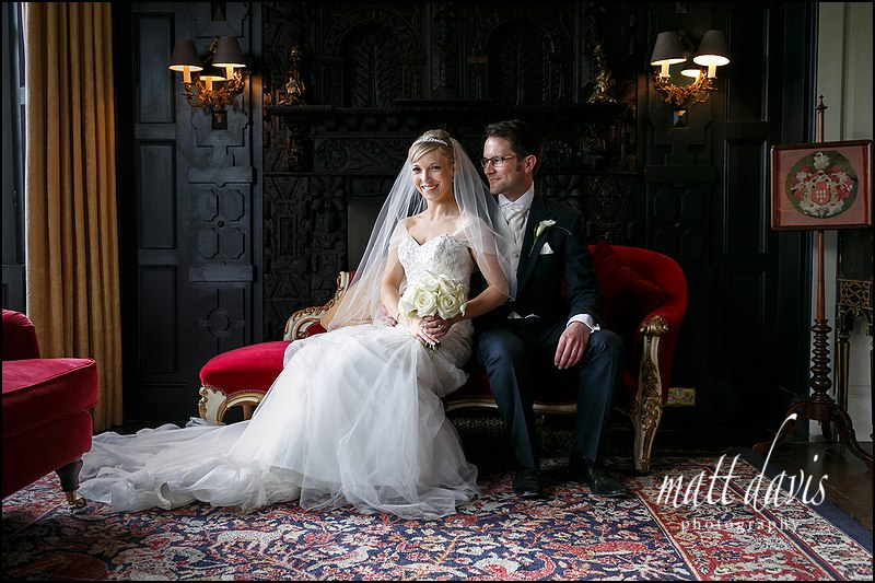 Stunning bridal portraits at Elmore Court