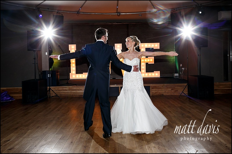 First dance photos Elmore Court