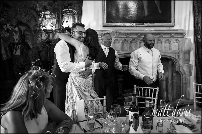 Berkeley Castle wedding photographer - black and white photos