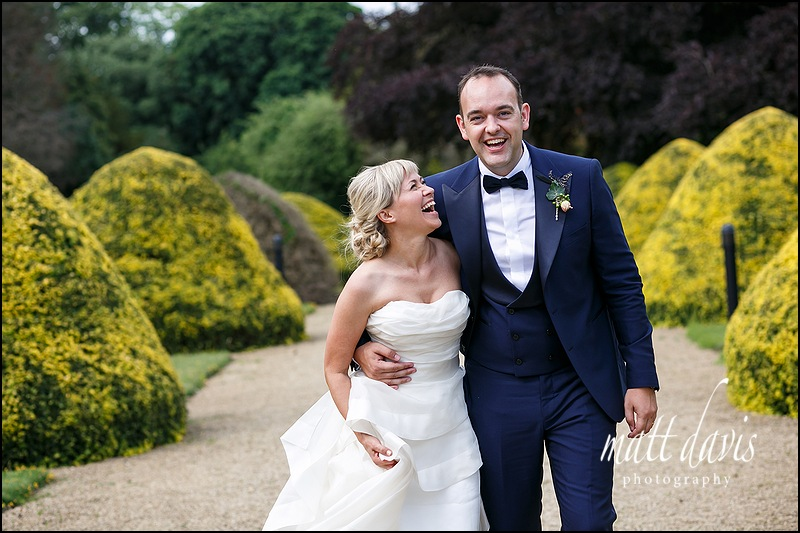 Wedding couple at Manor By The Lake, Cheltenham