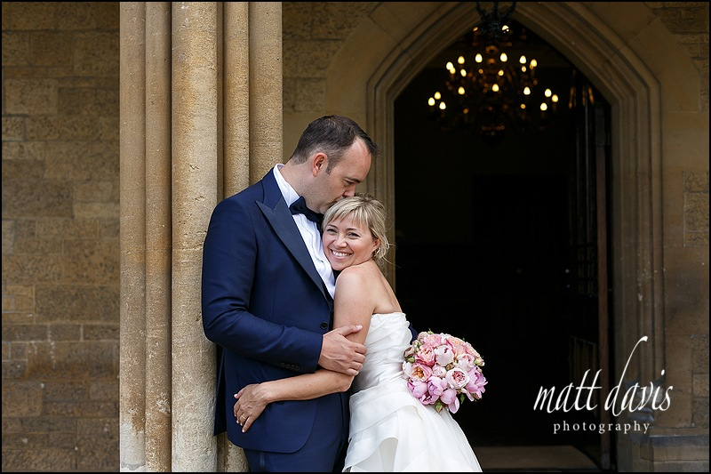 Natural wedding photos taken at Manor By The Lake Gloucestershire