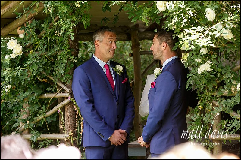 Gay wedding ceremony at Friars Court