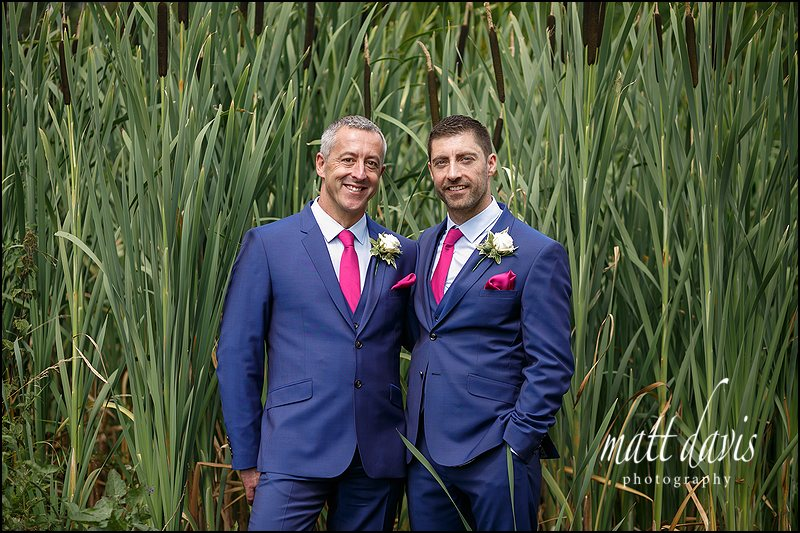 Same sex wedding at Friars Court - Pete & Nick
