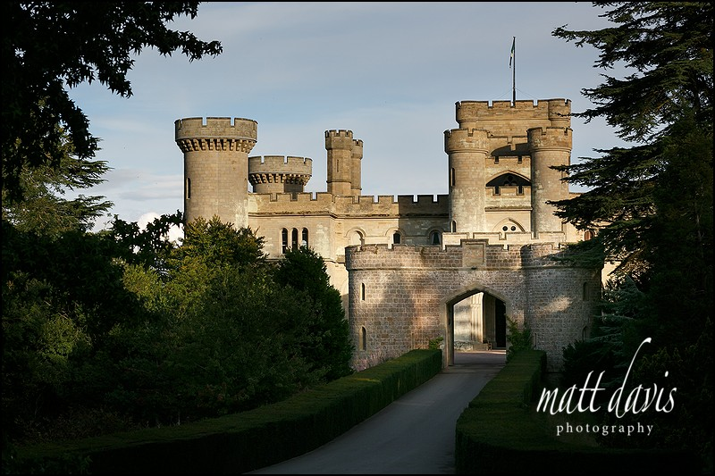 Eastnor Castle wedding - John& Alison