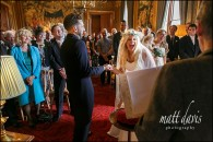 Eastnor Castle wedding – John & Alison