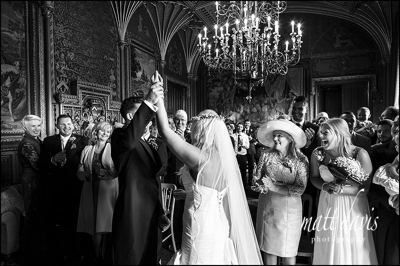 Stunning Documentary wedding photography at Eastnor Castle by Matt Davis