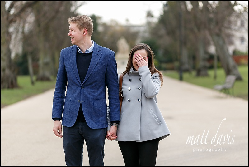 Fun Engagement photos Cheltenham by Matt Davis Photography