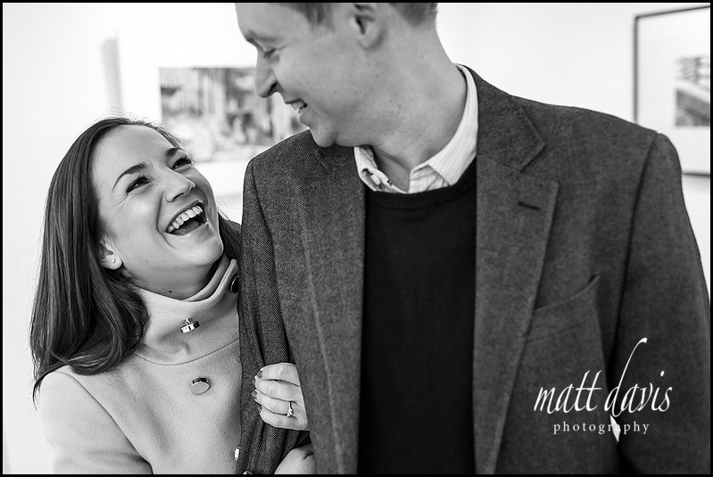 Relaxed couple photos in Cheltenham Gallery by Matt Davis Photography