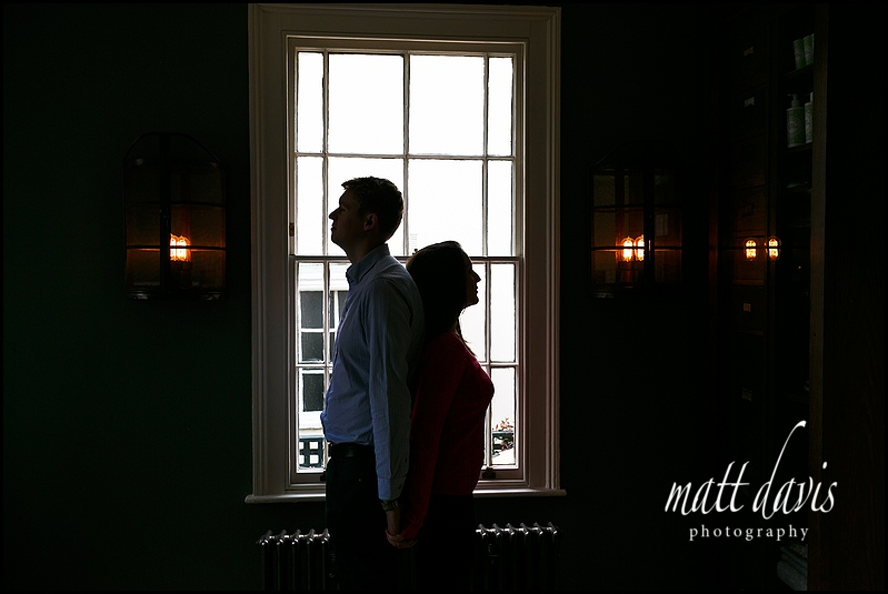 Unusual engagement photos Cheltenham, Gloucestershire by Matt Davis Photography