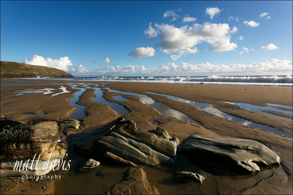 Landscape photo of Ceiriad beach North Wales