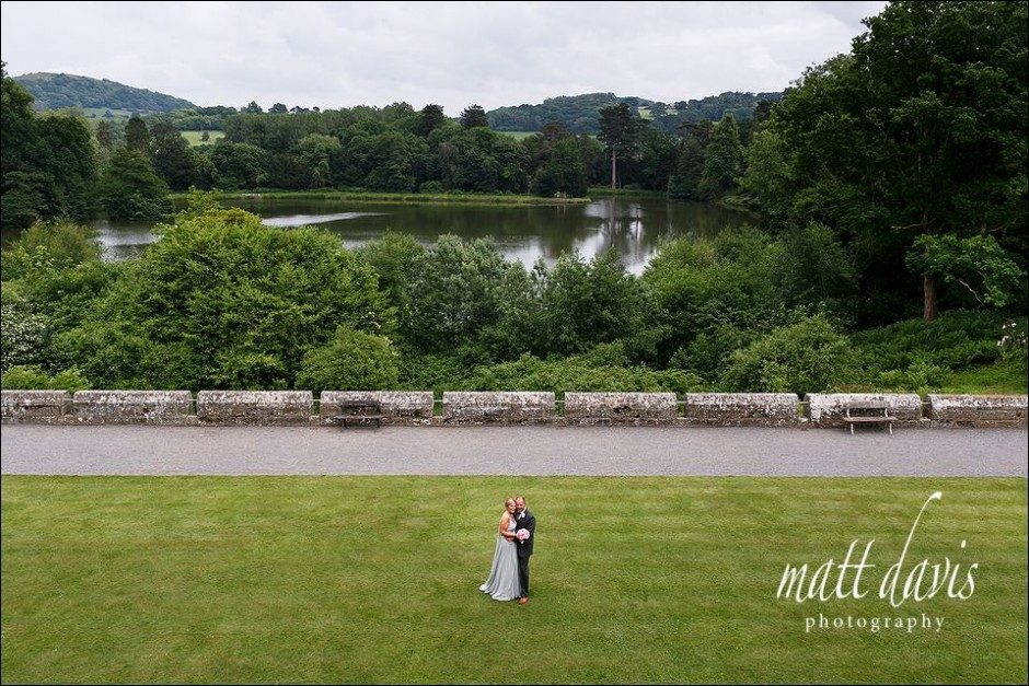 Eastnor Castle wedding venue grounds and gardens