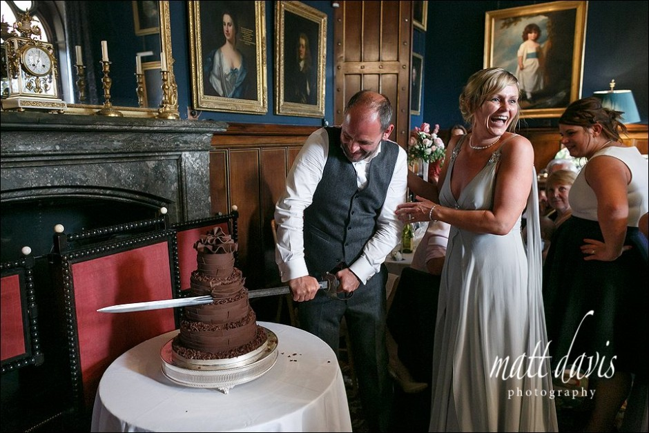 Eastnor Castle wedding photography – Mark & Alison