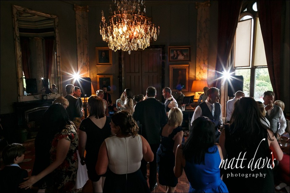 Eastnor Castle wedding dance floor