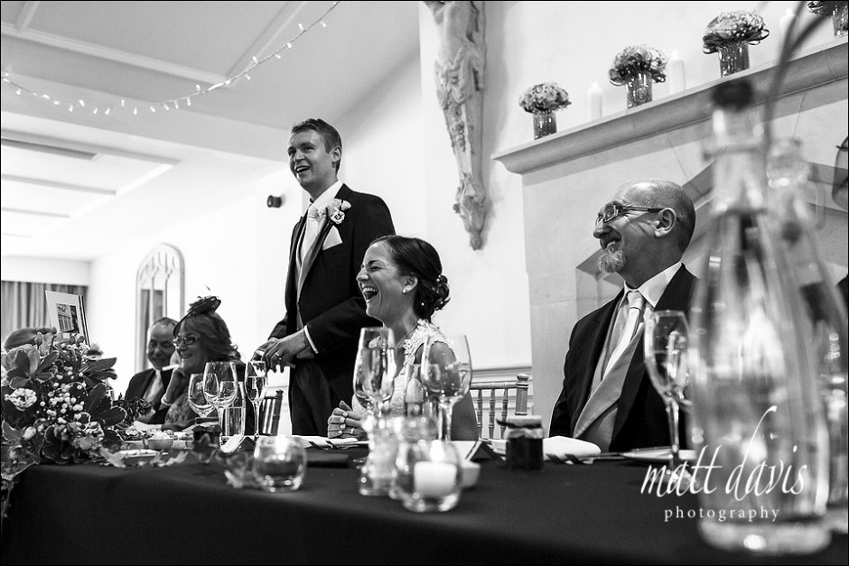 Black and white documentary wedding photos at Manor By The Lake